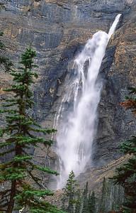 Knowlton waterfall.   Jasper NP, Canada.