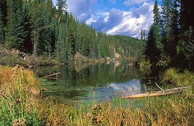 Seven lakes.  Jasper, Canada.