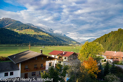View of the Tyrol