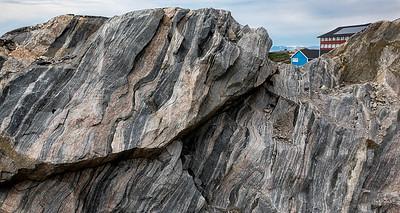 Rocks, Illulissat, Greenland