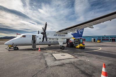 Air Iceland Flight to Illulissat, Greenland