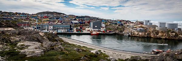 Illulissat harbor, Greenland