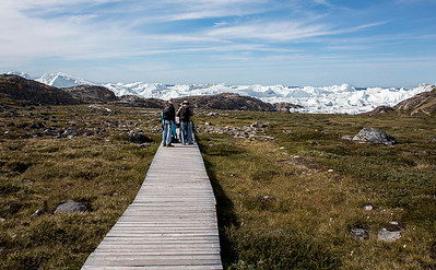 Boardwalk to the Icefjord, Illulissat, Greenland