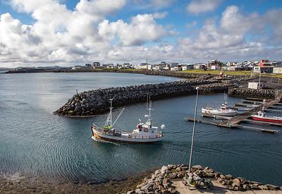 Keflavik Marina, Iceland