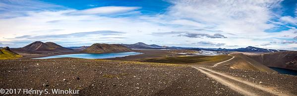 Road to Ljotipollur Lake