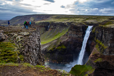 Haifoss, Southern Highlands, Iceland