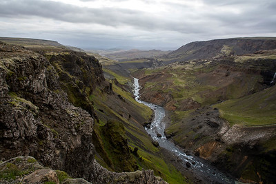 Haifoss, Southern Highlands, Iceland