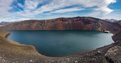 Ljotipollur Lake, Southern Highlands, Iceland