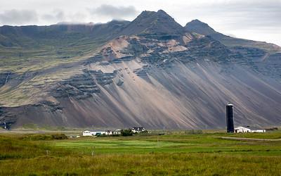 Farm near Hornafjordur, Iceland