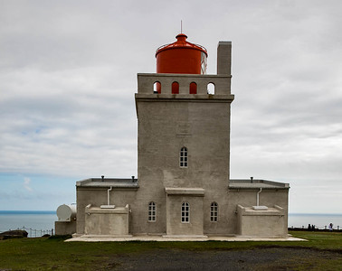Lighthouse, near Dyrholaey, Iceland