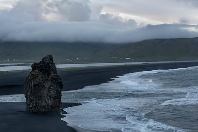 Off the coast, near Dyrholaey, Iceland