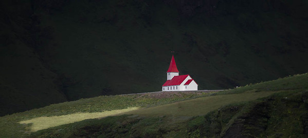 """Church in the dale"", Vik, Iceland"