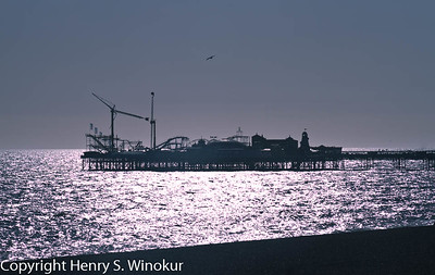 ©2010 Henry S. Winokur One of my favorite pics...the Brighton entertainment pier.  In Brighton, on the south seacoast