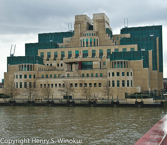 ©2010 Henry S. Winokur The MI6 building in London...isn't that where James Bond was headquartered???