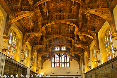 ©2010 Henry S. Winokur The ceiling of one of the rooms in Hampton Court Palace, Hampton Court