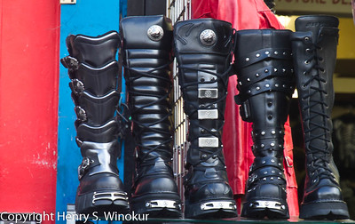 ©2010 Henry S. Winokur (more) boots... in London