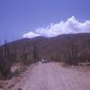 On road to Los Angeles bay.  Bahia De Los Angeles, Baja California, Mexico. 1974