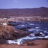 Overview of La Bufadora.  Punta Banda, Baja California, Mexico.  1972