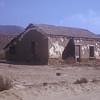 Adobe ruins.  El Rosario De Abajo, Baja California, Mexico.  1974