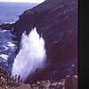 The blow hole.  La Bufadora, Punta Banda, Baja California, Mexico. 1972