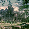 Spanish mission ruins.  Most of the California mission bells were cast here.  San Blas, Mexico.  1971