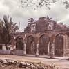 Customs house ruins.  San Blas, Mexico.  1971