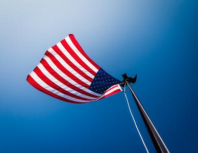 President's Flag - West Branch, Iowa