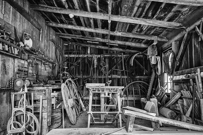 Blacksmith Shop - West Branch, Iowa