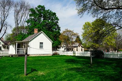 Herbert Hoover's Birthplace - West Branch, Iowa