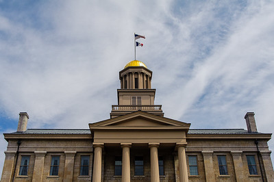 Old Capitol Building - Iowa City