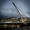 Samuel Beckett Bridge at Night