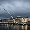 Samuel Beckett Bridge, Dublin at Night