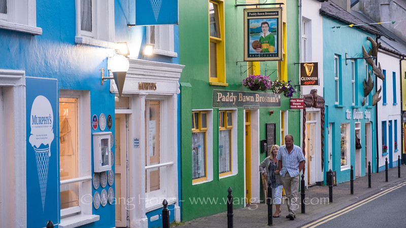 Dingle Town by Night