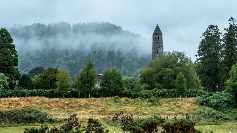 Glendalough medieval monastic settlement