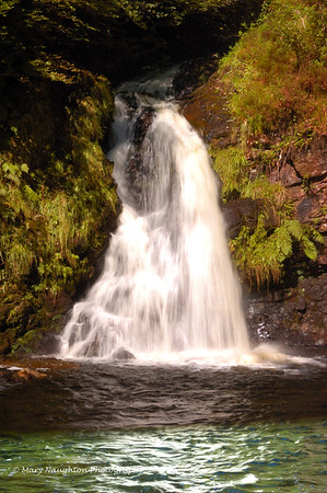 Tourmakeady Falls, County Mayo