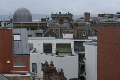 View from Hotel - The Clarence - Above Temple Bar, Dublin