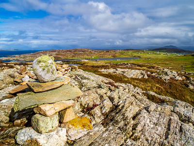 Highest point of Westquarter, Inishbofin