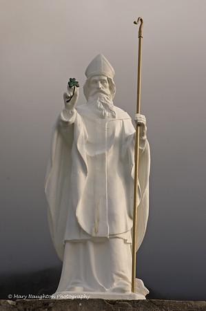 St. Patrick statue, base of Croagh Patrick,County Mayo, Ireland
