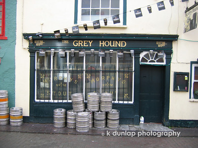 Great night in this pub!  The Grey Hound in Kinsale, Ireland. Fun times in front of the fireplace there.
