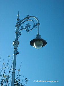 Lamp post in Dublin.