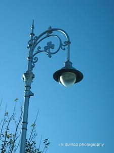 Lamp post in Dublin.