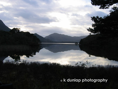 The lake at Muckross House