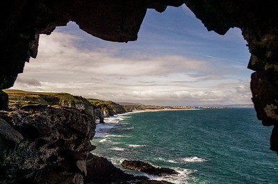 From Dunluce Castle, Co. Antrim