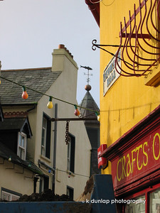 The streets of Kinsale.  I fell in love with this town.  I felt very at home there.