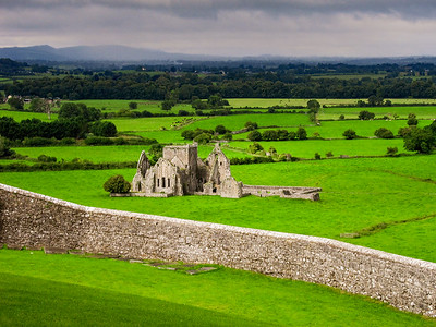 Hore Abbey from the Rock of Cashel