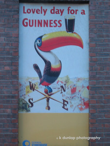 Guinness is much better in Ireland!