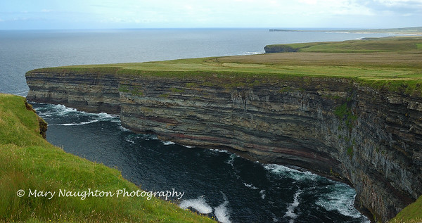 Cliffs at Ceide Fields, County Mayo