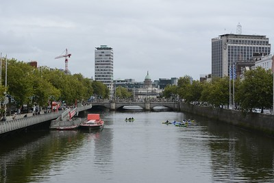 The River Liffey, Dublin