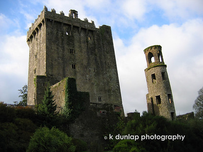Balarney Castle, and yes the Balarney Stone is at the top.  I climbed over 127 stone steps to kiss that stone!