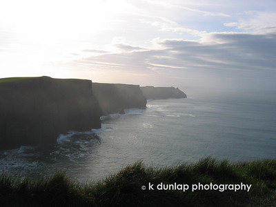 The Cliffs of Mohr.  It's a religious experience.